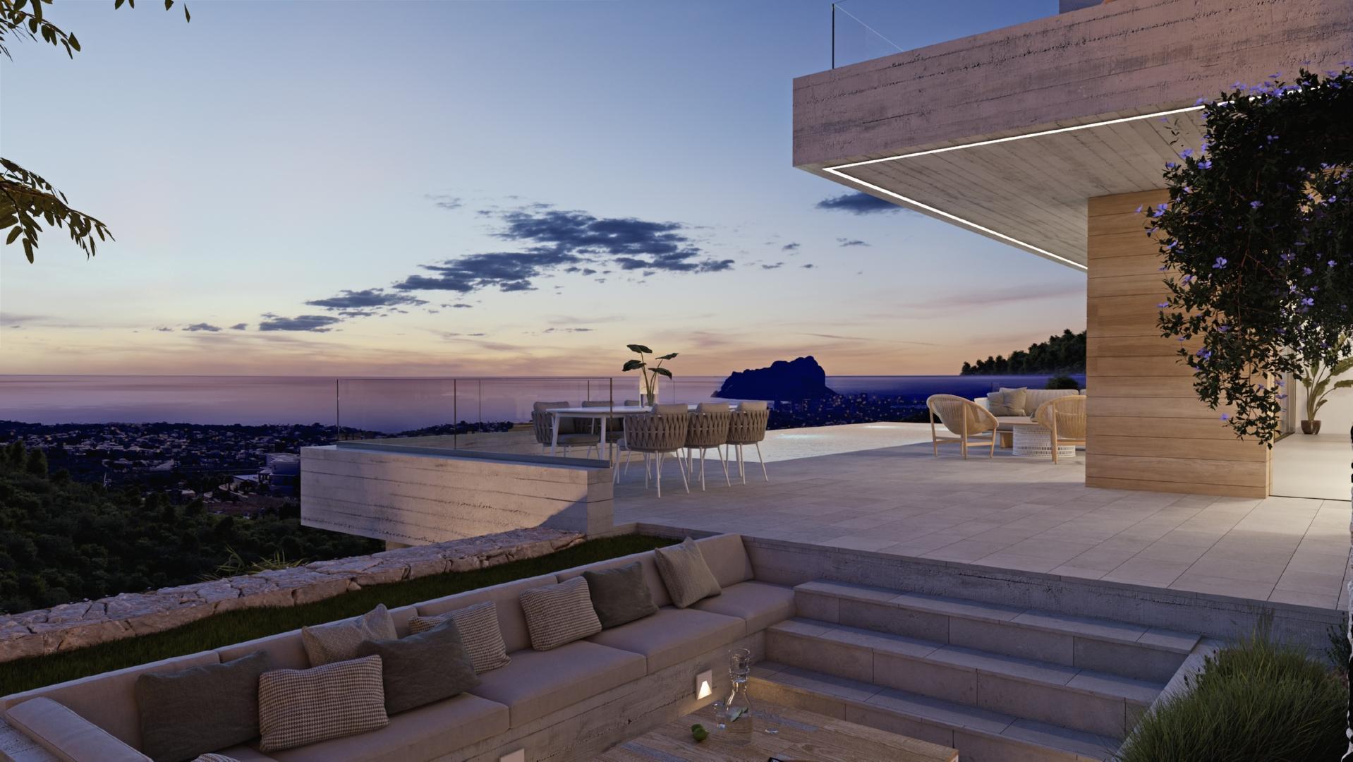 Proyecto Raco de Galeno - Villa con vistas panoramicas
