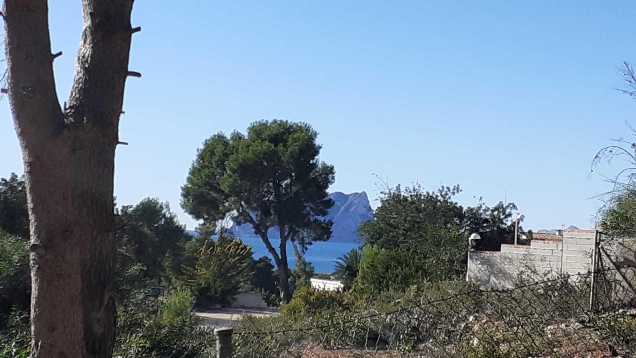 Parcela con vistas al mar  - Moraira