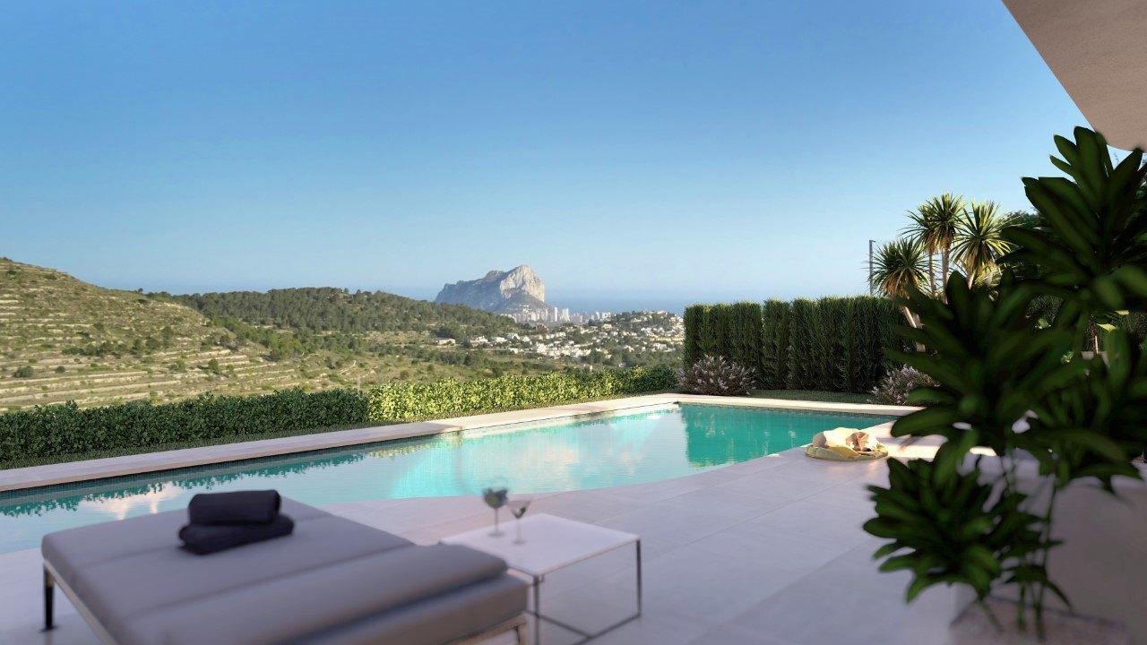 Proyecto Villa lujosa en Calpe
